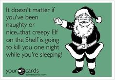 this made me crack up even though I wish I had kids to do the elf thing...lol
