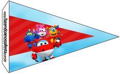 Uau! Veja o que temos para Bandeirinha Sanduiche 2 Super Wings