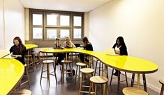 Rosan Bosch has created an inspiring setting for students and teachers at the Vittra school in the Stockholm district of Södermalm | Group room | Photo: Kim Wendt