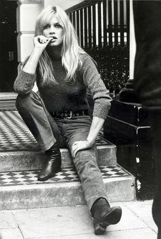 Brigitte Bardot in London, September 1966. #TakeUsBack
