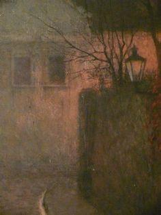 klikni pro další 132/134 Jakub Schikaneder, Landscape Paintings, Landscapes, Sun And Stars, Fade Out, Romanticism, Nocturne, Impressionism, Mists