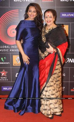 Sonakshi Sinha and her mom Poonam Sinha