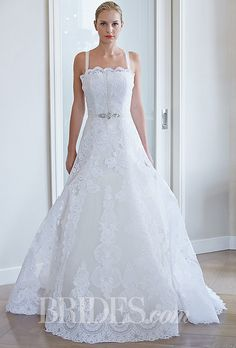 Edgardo Bonilla Wedding Dresses Fall 2014 Bridal Runway Shows   Wedding Dresses Style   Brides.com