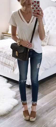 super casual and comfy outfit