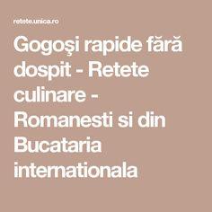 Gogoşi rapide fără dospit - Retete culinare - Romanesti si din Bucataria internationala