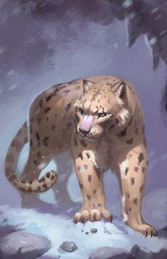 panthere-des-neiges, ARTIST: GAËL LANNURIEN