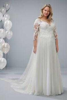 30 abiti da sposa per taglie comode  lusso ed eleganza per la moda curvy  2019 6642f31b70d