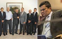 Lula faz o diabo e trama com 30 senadores pra enfiarem 'novas eleições'. Moro precisa agir rápido http://folhacentrosul.com.br/post-politica/11276/lula-faz-o-diabo-e-trama-com-30-senadores-pra-enfiarem-novas-eleicoes-moro-precisa-agir-rapido