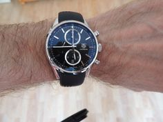 TAG Heuer Carrera 1887 with a fabric strap