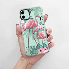 Iphone Cases Bling, Girly Phone Cases, Pretty Iphone Cases, Diy Phone Case, Iphone Case Covers, Flamingo Phone Case, Coque Iphone, Iphone 11, Apple Iphone