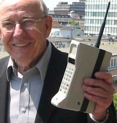 The 80s cell phone, it was expensive and very heavy.