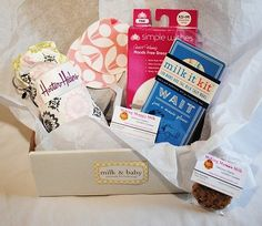 Milk & Baby's Back to Work Pumping Kit for the Breastfeeding Mom {Pumping Gift Set}