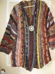 Ravelry: doonadoona's earth mother jacket based on the Medici Coat by Jane Thornley