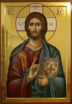 Whispers of an Immortalist: Icons of Jesus Christ 5 Images Of Christ, Religious Images, Religious Icons, Religious Art, Byzantine Icons, Byzantine Art, Christ Pantocrator, Greek Icons, Religion Catolica