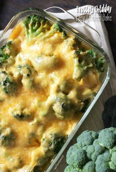 This easy broccoli cheese casserole is my kids FAVORITE dinner. It only takes 5 minutes to throw together before you pop it in the oven! Mom win!