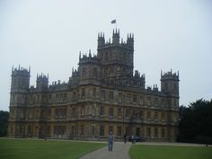 Downton Abbey (Highclare Castle) Berkshire, England