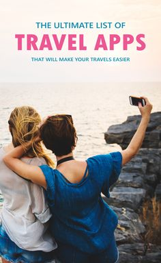 The Ultimate List Of Travel Apps That Will Make Your Travels Easier. Almost everyone has a smartphone nowadays. Why not make travelling a lot easier for you and keep everything you need on your phone. This is a list of travel apps that will make your tra Travel Advice, Travel Guides, Travel With Kids, Family Travel, Japan Travel Tips, Student Travel, Travel Gadgets, Travel Hacks, Budget Travel