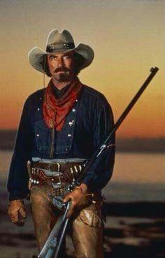 Ya gotta love a cowboy!