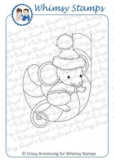 Mousey Candy Cane - Click Image to Close