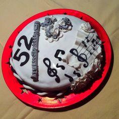 Tarta Fondant música 3 AMOTHER CAKES