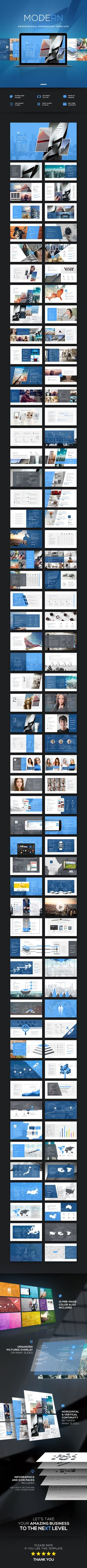 Modern PowerPoint — Powerpoint PPTX #enterprise #1920x1080 • Download ➝ https://graphicriver.net/item/modern-powerpoint/19390795?ref=pxcr