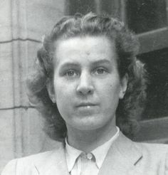 """Gertraud """"Traudl"""" Junge (1920-2002) was Adolf Hitler's youngest private secretary from December 1942 to April 1945. After typing out Hitler's will, she remained in the Berlin Fuhrerbunker until his death. She was arrested in June 1945, imprisoned and interrogated by both the Soviet and the American military. Later, in post-war West Germany, she worked as a secretary."""