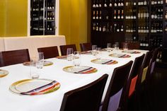 Custom design showplates customised to your décor and ambience. Image taken at Jacques Reymonds Restaurant, Melbourne.