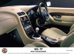 2004 MG TF with Tan interior.