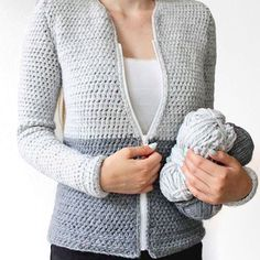 Looking for a free crochet cardigan pattern? Here you can find the free crochet pattern of my cardigan. It& simple to make and can be adapted to any size. Crochet Shawl Free, Crochet Squares Afghan, Crochet Poncho Patterns, Crochet Cardigan Pattern, Crochet Jacket, Crochet Yarn, Easy Crochet, Crochet Stitches, Double Crochet