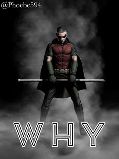 Why by (Cover ~Please do not repost~ Cover Art, Fanfiction, Robin, Batman, Author, Superhero, Fictional Characters, Writers, Fantasy Characters