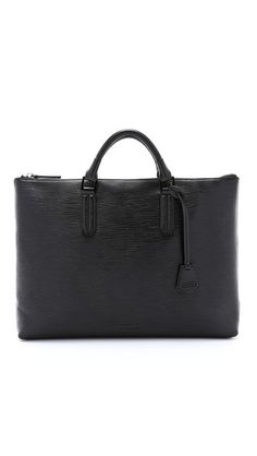 Ben Minkoff Embossed Leather Devin Briefcase
