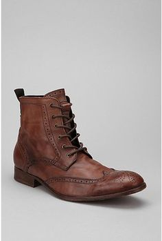UrbanOutfitters.com > H by Hudson Angus Tan Washed Lace Up Boot