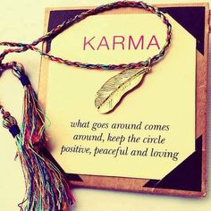 10 Ways To Create Shining Karma! Karma is what I am interested in, maybe the only concept we can all stand behind. You think, speak or do something and you experience the effects of it at some point in the future. Karma Frases, Karma Quotes, Crave Quotes, Karma Sayings, Silence Quotes, True Sayings, Sarcastic Quotes, Quotable Quotes, Osho