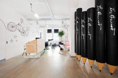 Graphic Designers, Do Leo Burnett and OpenBrand Have Something for You! Office Wall Art, Display Design, Branding, Prague, Interior Architecture, Packaging Design, Signage, Leo, Graphic Design