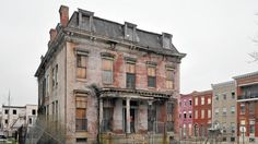 Sellers Mansion is sad relic, but could be a new cornerstone of Lafayette Square - Baltimore Sun