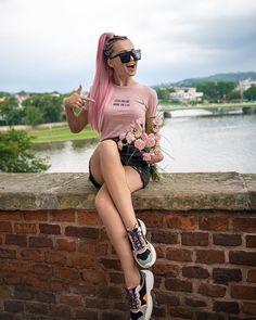 Polish Girls, Miu Miu Ballet Flats, Pretty Girls, Clouds, Celebrities, Hair Styles, Cute, Beauty, Things To Sell
