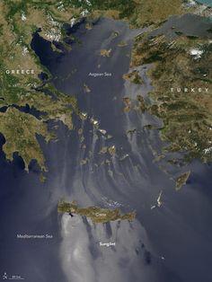 Το απίστευτο φαινόμενο sunlight στο Αιγαίο κατέγραψε η Nasa |thetoc.gr