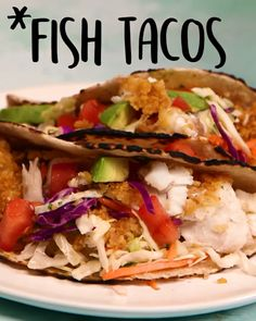 Tacos for is good idea. Fish tacos That's a better one , , Tacos for dinner is good idea. Fish tacos That's a better one Seafood Recipes, Mexican Food Recipes, Dinner Recipes, Cooking Recipes, Healthy Recipes, Chicken Recipes, Fish Taco Recipes, Taco Ideas For Dinner, Good Food Dinner
