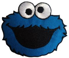 Cookie Monster Sesame Streets The Muppets Patch ''8.4 x 7.5 cm'' - Embroidered Iron On Patches Sew On Patches Embroidery Applikations Applique Schneckensekt Kids Patches http://www.amazon.co.uk/dp/B00ND96PNG/ref=cm_sw_r_pi_dp_aOqqvb0QSR0ZH