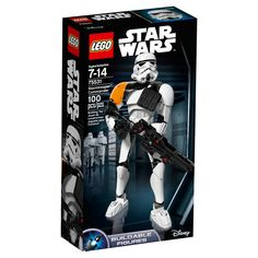 Lego Constraction Star Wars Stormtrooper Commander 75531