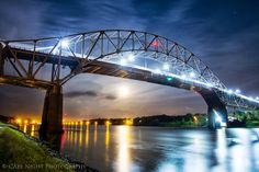 """""""Moon Under Sagamore""""  Photo by Timothy Little,  Cape Night Photography  www.capenightphotography.com"""