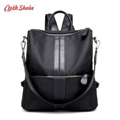 47e2a41f2c4c Buy Women Backpacks For Teenage Girls Youth Daypacks New School Shoulder  Bag Student Nylon Waterproof Laptop Multifunction Backpack  41.58- ICON2