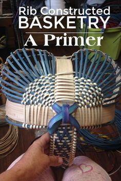All the tips, tricks, and hints to make sure you fall in love with this traditional type of basketry . Paper Basket, Wood Basket, Handmade Rugs, Handmade Crafts, Handmade Headbands, Handmade Journals, Basket Weaving Patterns, Traditional Baskets, General Crafts