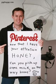 Funny Joke About Pinterest