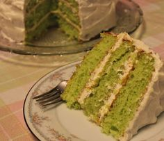 weet Tea and Cornbread: Key Lime Cake!