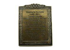 Irish Celtic Art Irish Blessing Plaque-Home Blessing-Irish Made  Price : $75.00 http://www.biddymurphy.com/Irish-Celtic-Art-Plaque-Home-Blessing-Irish/dp/B007XA8CWI