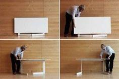 Especificaciones de las mesas plegables