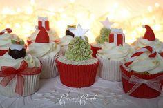 Very cute Christmas cupcake ideas