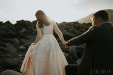 westman islands iceland anniversary elopement wedding | david and ann | jean smith photography