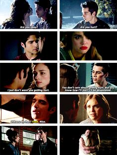 Scott and Allison / Stiles and Lydia, Teen Wolf